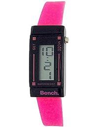 Bench BC0395PKA - Reloj para mujeres, correa de plástico color rosa
