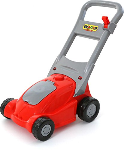 Polesie Polesie41593 Lawn-Mower Red with Sound-Summer Toys, Multi Colour