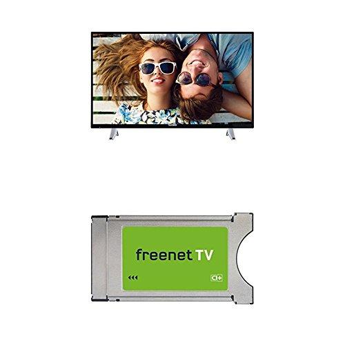 Telefunken D40F286X4CW Fernseher + Freenet CI+ Modul