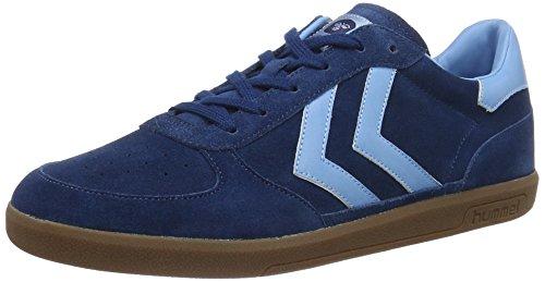 Hummel Victory, Sneakers Basses Mixte Adulte Bleu (Poseidon)