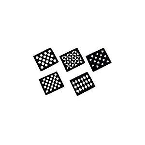LINCOLN Muster-Schablonen (5 Stück)