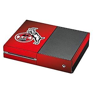 DeinDesign Skin kompatibel mit Microsoft Xbox One Folie Sticker 1. FC Köln Offizielles Lizenzprodukt EffZeh
