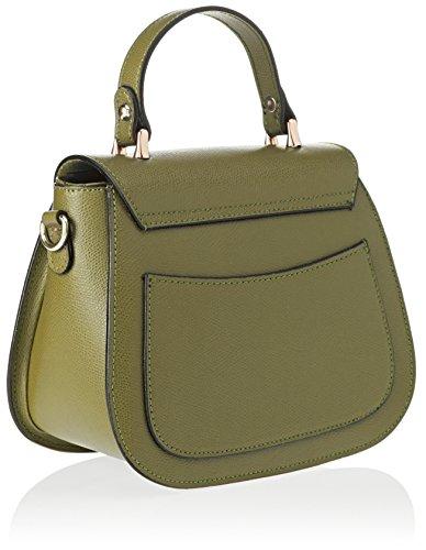 Chicca Borse 8833, Borsa a Mano Donna, 23x19x10 cm (W x H x L) Verde (Verde)