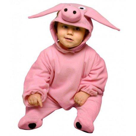 Imagen de disfraz de cerdito para bebés de 6 12 meses