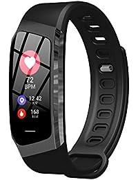 Cardiofrequenzimetro Da Polso Con Fitness Activity Tracker Per Ios Android Impermeabile Ip68 Bluetooth:Ver4.0 - Jerfer Braccialetto Fitness Uomo Smartwatch Orologio Fitness Smartband - Calorie Sport