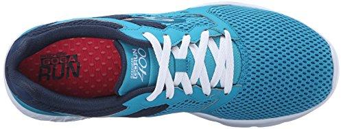 Skechers Go Run 400, Chaussures de Sport Femme Teal/Navy