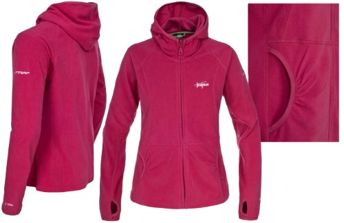 Trespass Damen Marathon Micro Fleece Rosa - Cassis