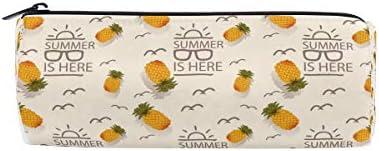 Fruits d'été Ananas Trousse Sac pochette pour enfants garçons garçons garçons filles adultes d'école avec fermeture à glissière ronde B07GXNMV94   Sale Online  12fc55