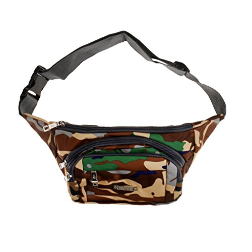 Generic Taktische, Militärische Sport Hüfttasche - Camouflage / Tarnfarbe Neu Tarnunggrün