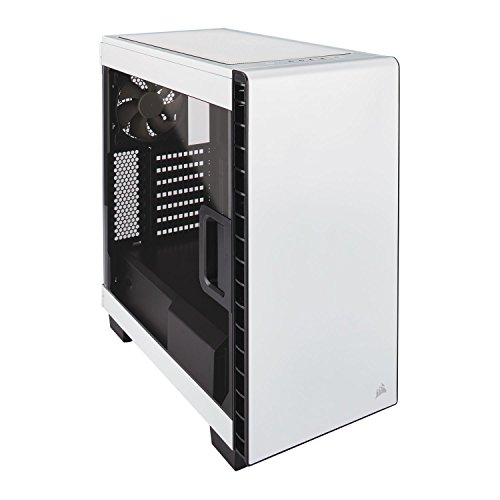 Corsair Carbide 400C Midi Tower Gaming Case - White Window (CC-9011095-WW) lowest price