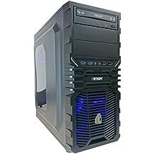 NITROPC - PC Gamer Z Mod *REBAJAS DE ABRIL* (CPU Quad-core i7: 4/8 x 4,20 Ghz, T. Gráfica Nvidia Geforce GTX 1060 6 GB, SSD 240GB + Hdd 1 Tb, Ram 16 GB + Windows 10* 64 bits) pc gamer, pc gaming, ordenador para juegos, pc para juegos