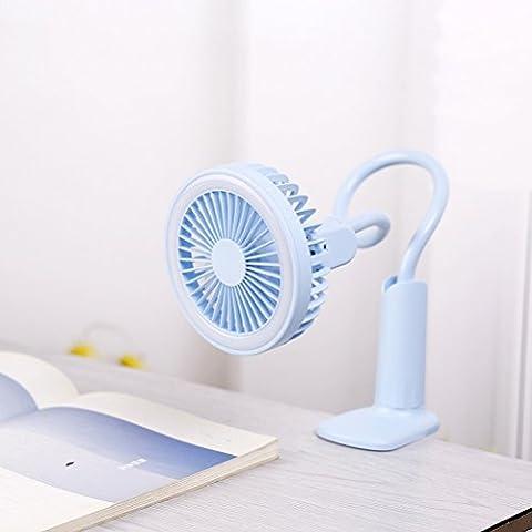 UKCOCO-Mini-Ventilador-Flexible-USB-Escritorio-de-Mesa-Ventilador-de-Ventilador-Personal-con-Luz-de-Noche-para-Dormitorio-de-Ministerio-del-Interior-Azul-Cielo