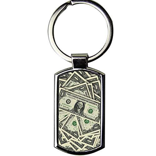 Babu Building Leicht Drucken Cash Zum Key Ring Hergestellt Aus Metall Für Mädchen