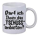Kaffee Tasse Darf ich Ihnen das Tschüss anbieten Spurch Xmas Geburtstag Geschenk