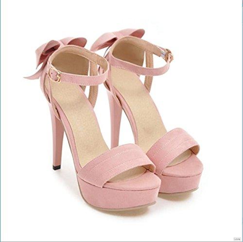 Sproud 2017 Die Neue Koreanische Damen High Heels Sandaletten Mädchen Und Schmetterlinge Modelle Sexy Schuhe 38 D