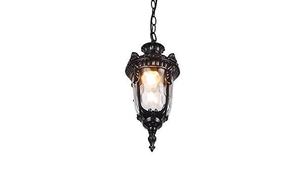 Lampadario Allaperto : Andea retro lampadario allaperto impermeabile giardino esterno