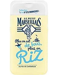 Le Petit Marseillais Douche Crème Hydratante au Riz de Camargue 250 ml - Lot de 5