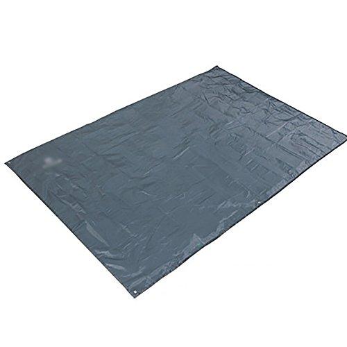ZJM- Tapis de Pique-Nique Tapis Tapis Imperméable Extérieur Barbecue Imperméable Oxford Tissu Siège Camping Moistureproof Mat Canopy (Couleur : Gris, Taille : 200 * 150cm)