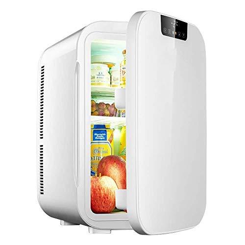 Preisvergleich Produktbild XSWZAQ-bx 25L Mini-Kühlschrank kleinen Wohnheim eintürige Schlafzimmer kosmetische Maske Auto (Farbe : Weiß)