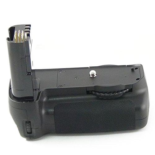 Empuñadura DynaSun 80 Battery Grip para Nikon Alpha Digital D80 D90 DSLR compatible con MB D80 con adaptador para alimentación pilas