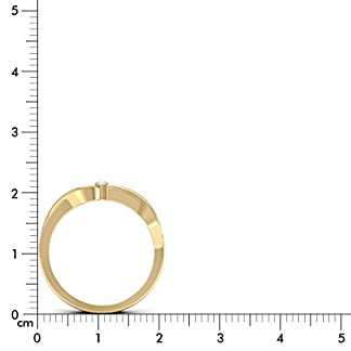 PC Jeweller The Naveah 18KT Yellow Gold & Diamond Rings