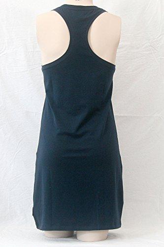 Emporio Armani Woman Nachthemd Sleepshirt Short Night Dress EAGLE Schmucklogo Marine (00135)