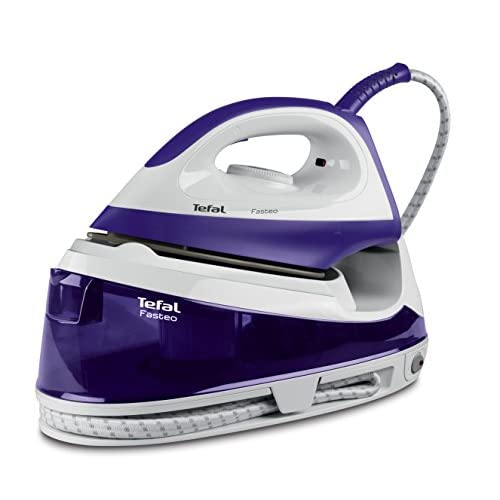 41J3rPYKAXL. SS500  - Tefal SV6020 Fasteo Steam Generator Iron, 2200 Watt, Purple