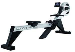 Finnlo Aquon Pro Plus Rameur Argent/Noir 148 x 51 x 196 cm