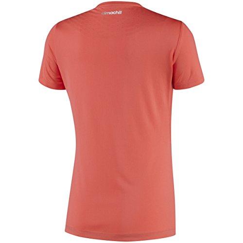 Adidas climachill t-shirt à manches courtes pour femme - Corail