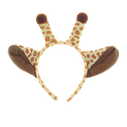 OMSLIFE Ostern Weihnachten Geweih Haarband Show Maskerade Party Cosplay Tier Kopfschmuck Rentier Kühe Krabbe Häschen Stirnband ()
