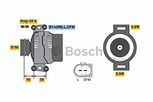 BOSCH 986046320 Bosch Mot.Alt. Nuovi,