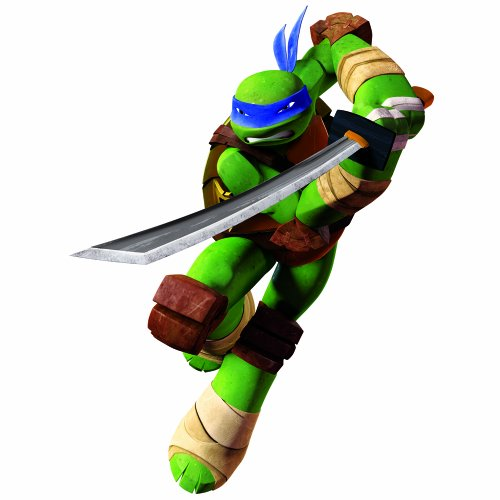 roommates-539015-riesiges-wandtattoo-repositionierbar-teenage-mutant-ninja-turtles-leonardo-vinyl