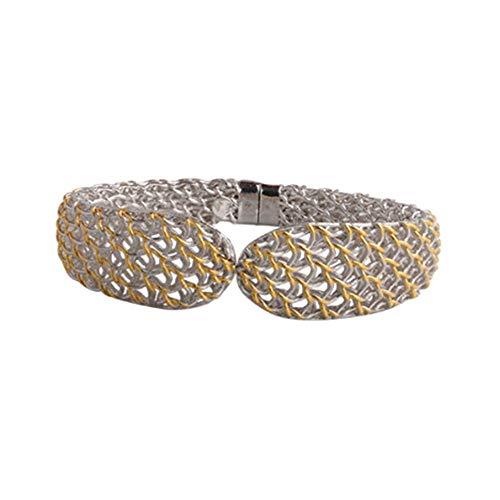 59cd28da949 SeeBeaUty Handgefertigte Lace Armbänder 925 Silver Elegant Lace Craft Jewelry  Fashion Creative Bracelets Hand Ornament