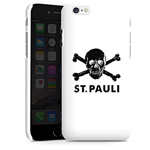 Apple iPhone 6s Silikon Hülle Case Schutzhülle FC St. Pauli Fanartikel Fußball Premium Case matt
