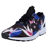 adidas Sneakers ZX FLUX NPS Schwarz/Weiß/Blau B34467, Groesse Eur:42