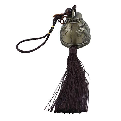 Windspiel Röhren, silb./schwarz,