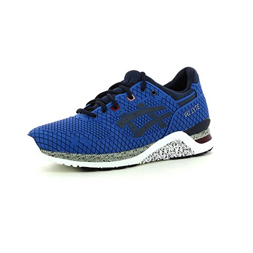 Asics HN543..4250 Sneakers Herren Gedrückt Blau Blau 45 Evo Mid Sneaker