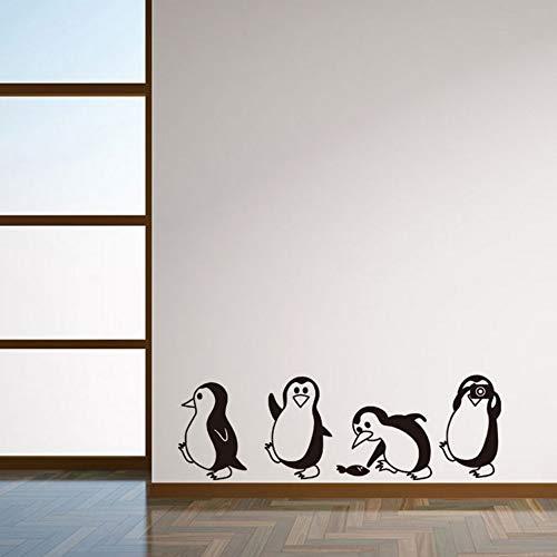Yzybz Diy Abnehmbare Niedlichen Kleinen Pinguin Wandaufkleber Dekorative Aufkleber Kinder Kinderzimmer Baby Raum Aufkleber Für Kinderzimmer ()