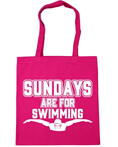 hippowarehouse-sundays-are-for-swimming-tote-shopping-gym-beach-bag-42cm-x38cm-10-litres