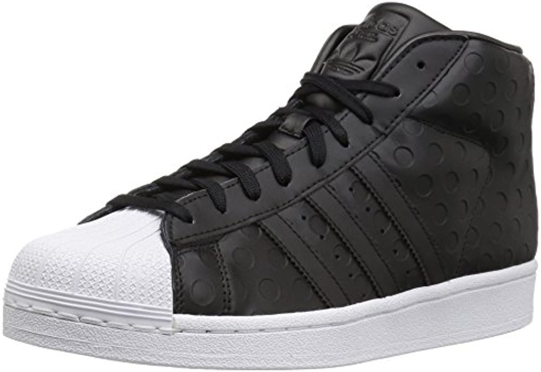 les baskets adidas noir originaux promodel w, noir adidas / noir / blanc, 9,5 moyen nous 8a2224