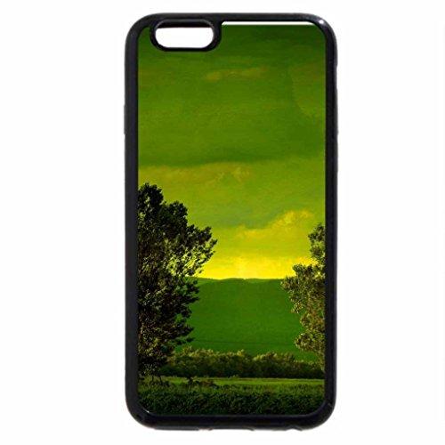iPhone 3S/iPhone 6Coque (Noir) tous les Vert