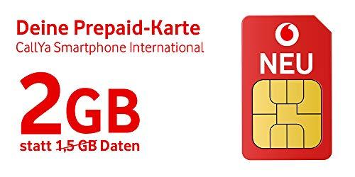 Vodafone Freikarte(CallYa international) + 15 Euro Startguthaben (Vodafone Sim-karte)