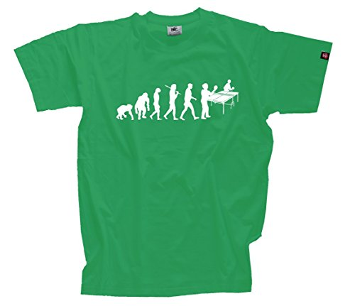 T-Shirt Kelly XL Tischtennisspieler Tischtennis Table Tennis Ping Pong Evolution