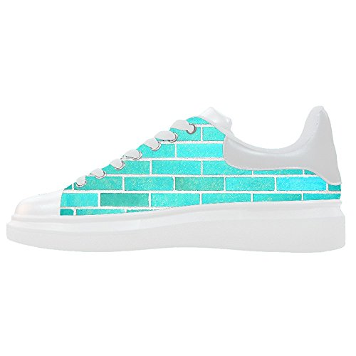 Custom gemauerte Wand Textur Women's Canvas shoes Schuhe Footwear Sneakers shoes Schuhe Chief Wand