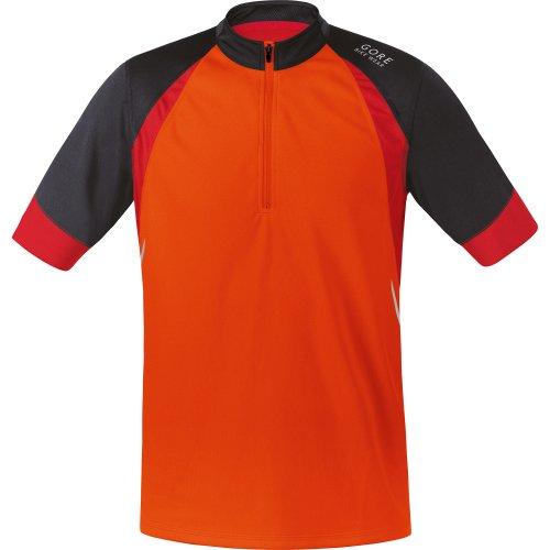 Fusion Radtrikot (Gore Bike Wear Fusion 2.0-Radtrikot, Orange/Braun L Naranja/marrón (Blaze orange/Raven Brown))