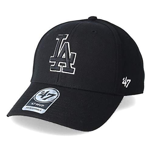 Gorra curva negra snapback logo negro Los