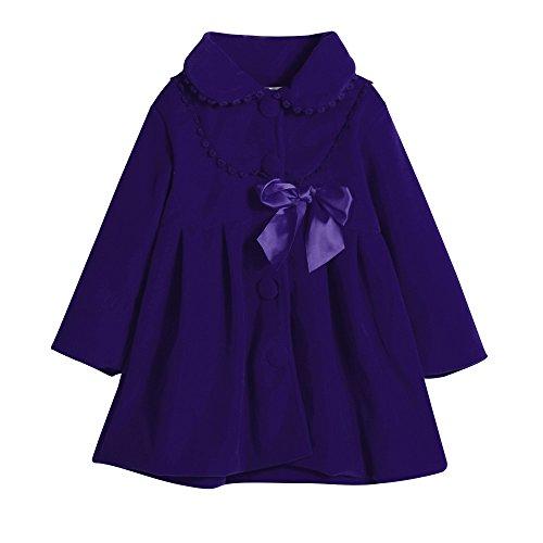 Baby Junge Kleidung Outfit, Honestyi Kleinkind Kinder Baby Mädchen Herbst Winter Mantel Jacke Mantel Dicke Warme Kleidung (Blau,120)