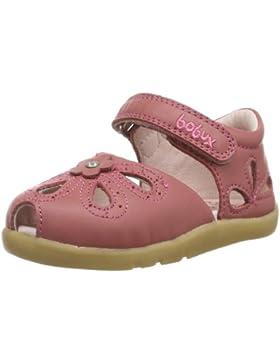 Bobux 410332 - Sandalias de cuero, color rosa, talla 20