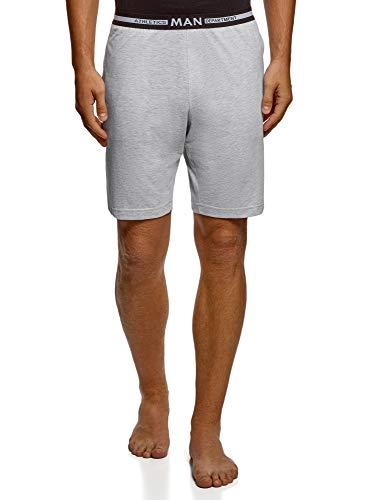 Oodji Ultra Hombre Pantalones Cortos Algodón Estar