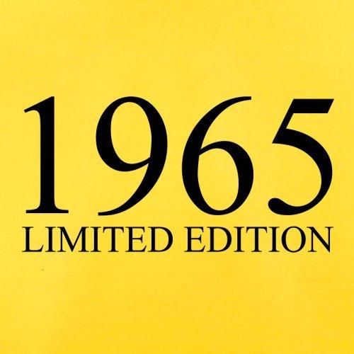 1965 Limierte Auflage / Limited Edition - 52. Geburtstag - Herren T-Shirt - 13 Farben Gelb